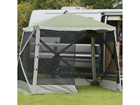 Quest gazebo,with four new sides , as advertised on ideal world.