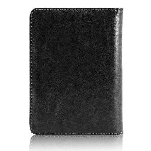 Купить Unbranded - RFID Blocking Leather Passport Holder Case Cover Wallet for Securely Travel Trip