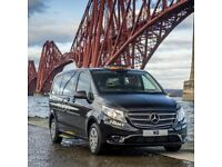 Edinburgh Black Cab Dayshift available for rent (street car with airport pass)