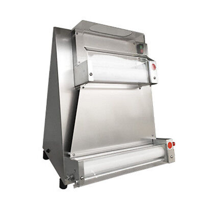 Electric Auto Pizza Dough Roller Sheeter Pizza Making Machine With Safety Covers
