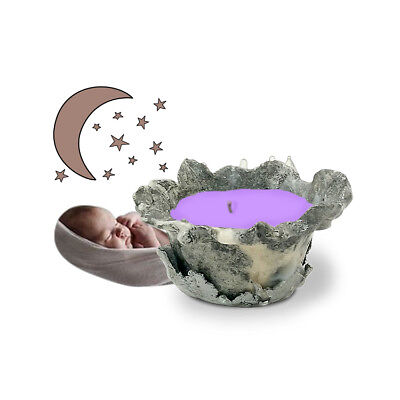 Handmade Natural Clay Marble Sleep Better Candle - 4 (Best Cup Candles)