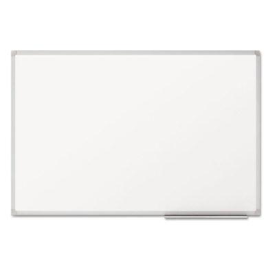 Mead Dry-erase Board Melamine Surface 36 X 24 Silver Aluminum Frame 85356
