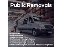 Man and Van 15/ph Reliable Removals Services Birmingham city