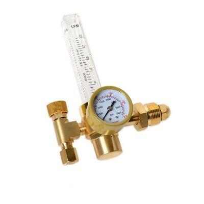 Argon Co2 Flow Meter Regulator Mig Tig Gauge Gas Cga580 Welder New Replacement
