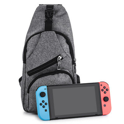 For Nintendo Switch Backpack Travel Bag Console Joy-Con Controller USB Charging