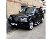 2007 Black Range Rover Sport 2.7 HSE