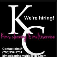 HIRING EXPERIENCED CLEANERS