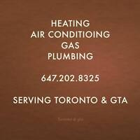 HEATING  -- GAS PIPING--Cooling    Services  Toronto & GTA