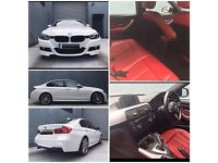 White BMW 3 Series 320D MSport