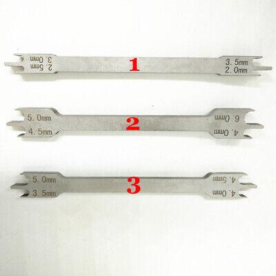 Dental Orthodontic Bracket Gauge Locator Stainless Steel Rod Bracket Positioner