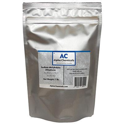 1 Pound - Sodium Molybdate - 39.5 Mo - 99 Pure