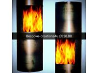 Bespoke Post Box Style Log Burner