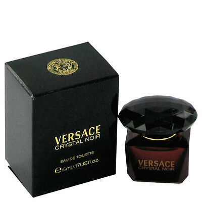 Crystal Noir Perfume By VERSACE FOR WOMEN 0.17 oz Eau De Toilette Spray