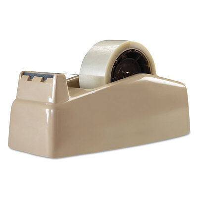 Scotch Two-roll Desktop Tape Dispenser 3 Core High-impact Plastic Beige C22