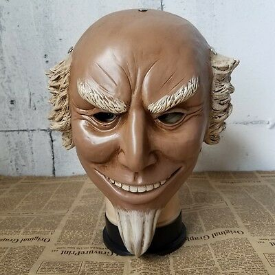 Uncle Sam Mask (Uncle Sam Mask The Purge 3 Resin Halloween Fancy Dress Election Year)