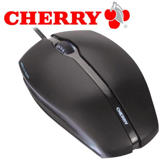 CHERRY GENTIX - Maus USB optisch - 3 Tasten - verkabelt - USB - Schwarz - NEU