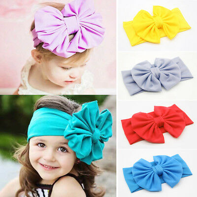 Baby Stirnbänder Turban geknotete Mädchen Haarbänder für Neugeborene