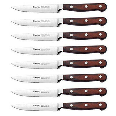 Steak Blade Set Dining Knives Sharp Blade German Stainless Steel 8-Piece Pack