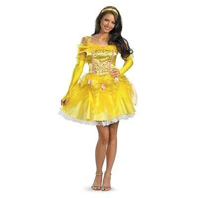SASSY BELLE Adult Disney Deluxe Costume Beauty and the Beast | Disguise 17735 - Sassy Belle Costume