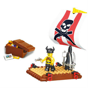 LEGO-COMPATIBLE: PIRATE RAFT - NEW!!!