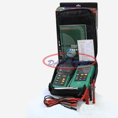 Ms6818 Mastech Wire Cable Locator Tracker Network 12v-400v Acdc Tester Detector