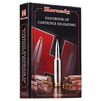 Hornady 9th Edition Handbook of Cartridge Reloading, New, Free Shipping