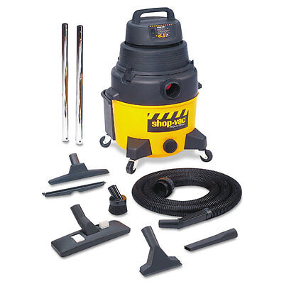 Shop-vac Industrial Wetdry Vacuum 12gal 2.5hp Yellowblack 9622110