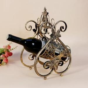 New Retro Iron Wine Rack(020003)