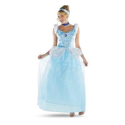 CINDERELLA Adult Deluxe Disney Costume   Disguise 50485 (Deluxe Disney Costumes Adults)