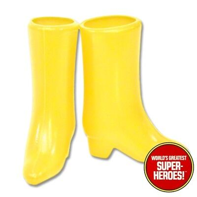 "Mego Batgirl Boots Reproduction For 8"" Action Figure WGSH Custom Parts - Batgirl Feet"