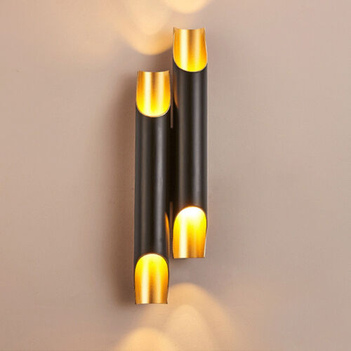 Modern Wall Light LED Lamp Sconce Up Down Aluminum Pipe Light Wing 1// 2 Bedroom