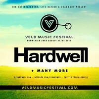 2 TICKETS TO VELD 2015