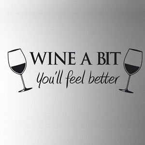 AGYWine Wall Art Wall Quote Sticker Dinning Kitchen Removable Decals Hot Sale