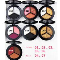 3 Colore Scalda Pigmento Palette Ombretto Trucco Set Opaco E Scintillante -  - ebay.it