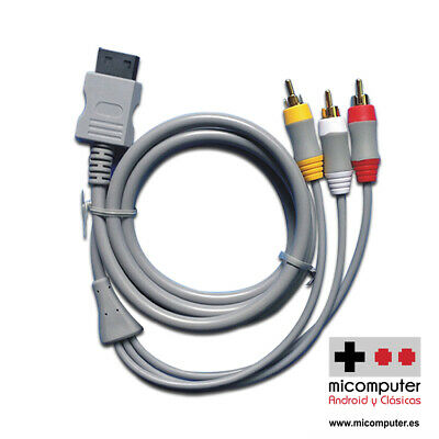 Cable Video ALTA CALIDAD AV Componentes RCA para Nintendo Wii y Wii...