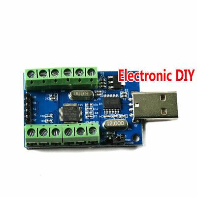 1pcs Usb Interface 10 Channel 12 Bit Ad Data Acquisition Stm32 Uart Adc Module