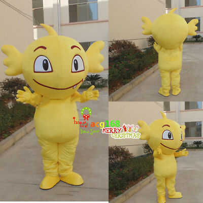 Halloween Eagle Mascot Costume Suits Interest Cosplay Party Game Dress Adults US](Interesting Halloween Costumes)