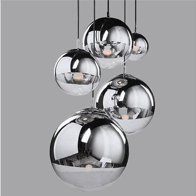 Decke Kugel (Moderne Glaskugel Decke Licht Pendelleuchte Lampe Decke Leuchte Kronleuchter H)