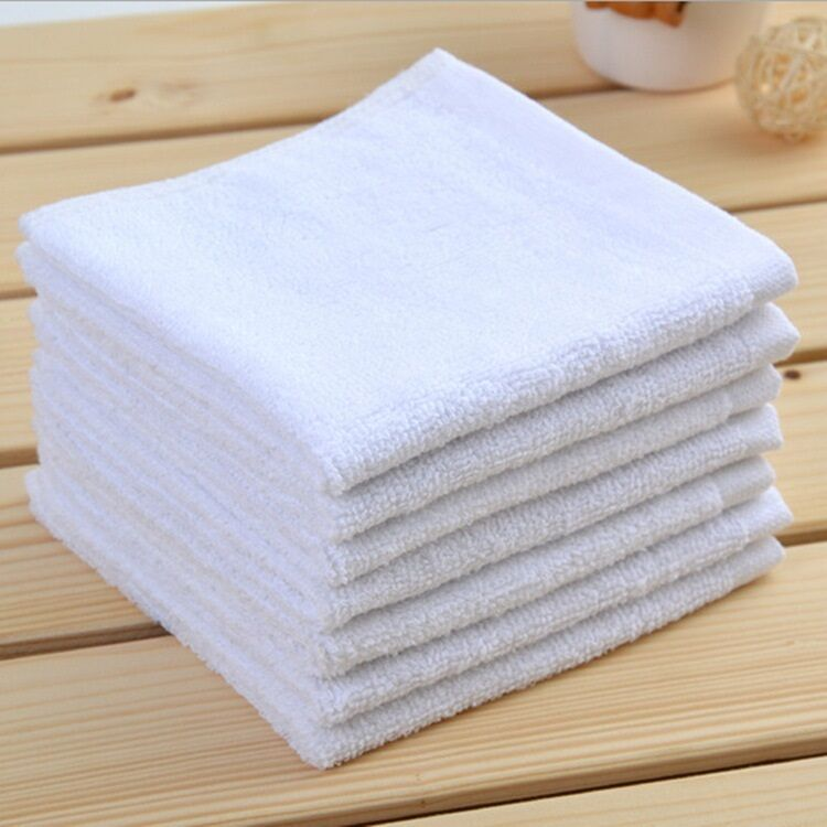 24 16X19 HEAVY WEIGHT 32OZ SHOP RAGS HOTEL OR KITCHEN TOWEL NEW WHITE JANITORIAL