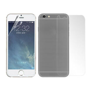 """New Front and Back iPhone 6/6S/7/8 - 4.7"""" Clear Screen Protector"""