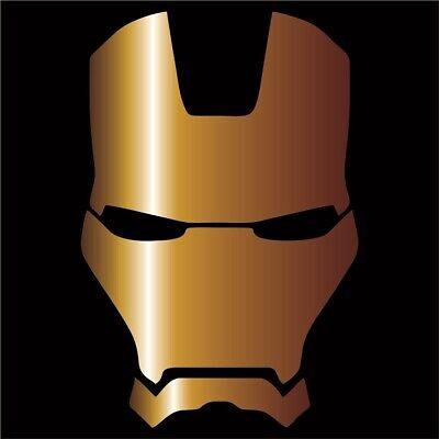 Iron Man Decal (Iron Man Vinyl Decal / Sticker - Choose Color & Size - Avengers)