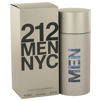 Usado, Carolina Herrera 212 Men NYC Fragrance 3.4oz Eau De Toilette MSRP $90 NIB segunda mano  Embacar hacia Mexico