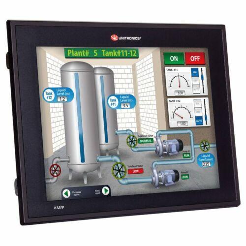 Unitronics Vision V1210-T20BJ PLC Controller With High Resolution HMI 12.1 Inch