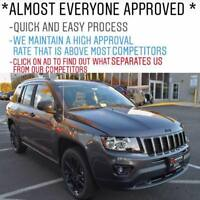 Bad Credit? WE CAN GET YOU A CAR LOAN WHEN MOST DEALERS CANT!
