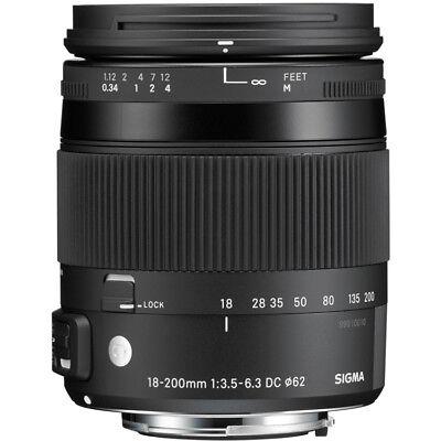 Sigma 18-200mm F3.5-6.3 DC Macro OS HSM 'C' Lens - Canon Fit segunda mano  Embacar hacia Spain