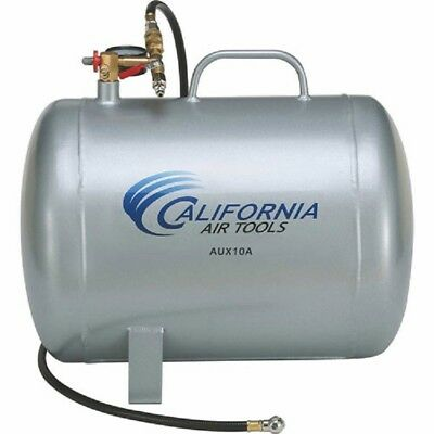 New 10 Gal Lightweight-rust Free-portable Aluminum Air Tank-horizontal