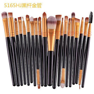 Makeup Brushes Kit 20pcs Professional Powder Eyeshadow Eyeliner Lip Brush Tool on Rummage