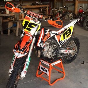 Motocross KTM 250 sx-f low hours