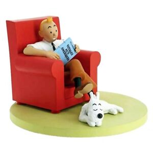 Tintin and Snowy at Home Figure, Figurine, by Moulinsart
