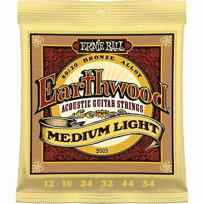 Ernie Ball Acoustic Guitar Strings Eathwood Phosphor Bronze 80/20 Medium Light
